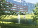 Virtua Voorhees_Dining Garden Pond