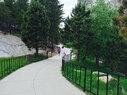 Widened Sidewalk