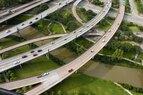 Buffalo Bayou-Aerial