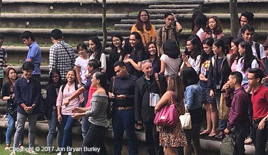 Burley-students