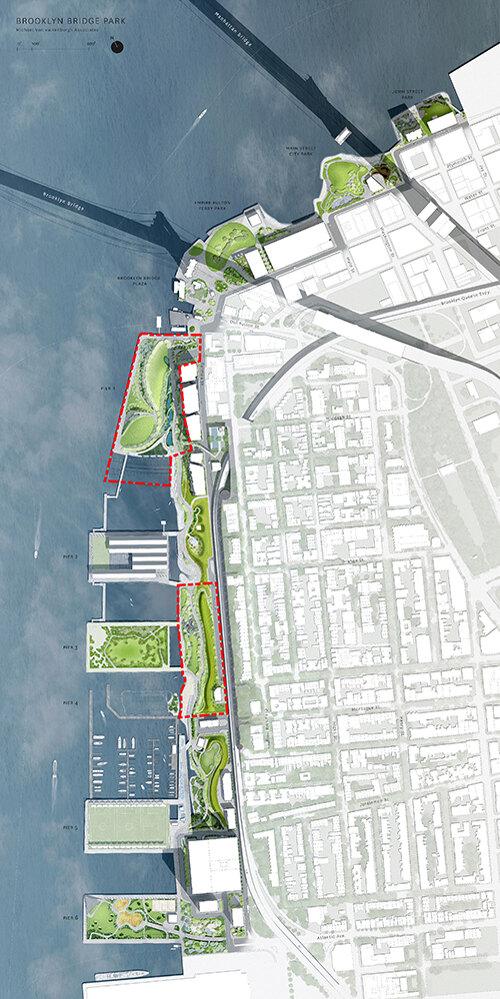 Brooklyn Bridge Park: Pier 1 & Pier 3-4 Uplands | Landscape