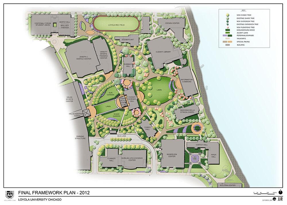 loyola lakeshore campus map Loyola University Lake Shore Campus Landscape Performance Series loyola lakeshore campus map