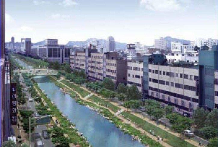 Cheonggyecheon Stream Restoration Project | Landscape