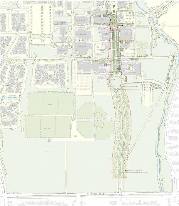 University Of Texas At Dallas Landscape Enhancements Landscape